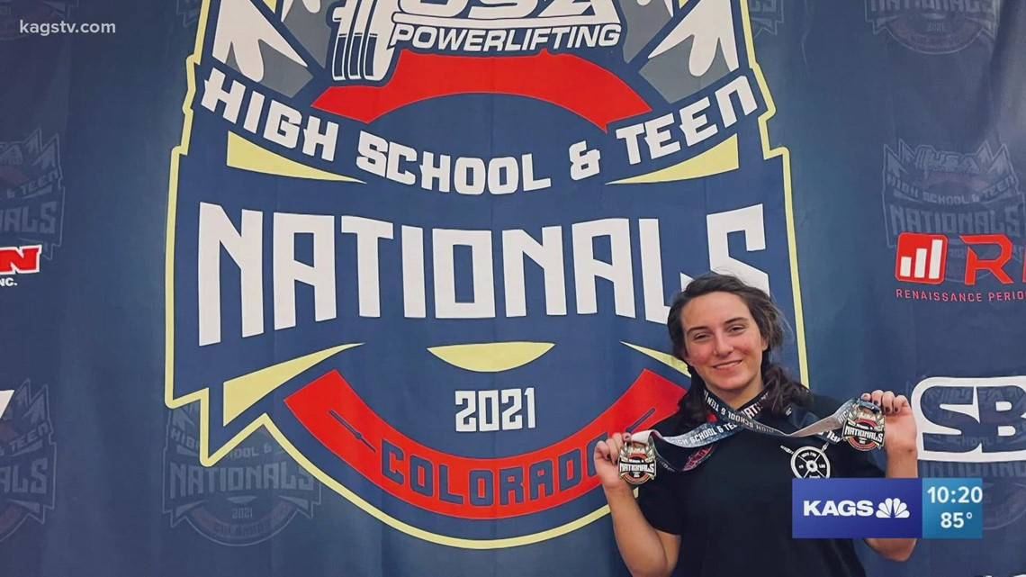Fayth Ham pushes her way into the World Powerlifting Competition