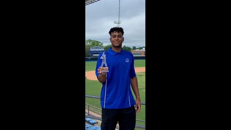 Kelton named Blinn's 2021 Leroy Dreyer MVP Diamond Award winner