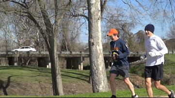 Brenham man spends 24 hours running to raise awareness of childhood cancer