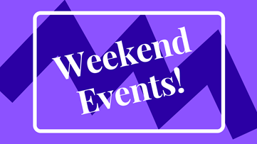 Weekend Events 2-29-20