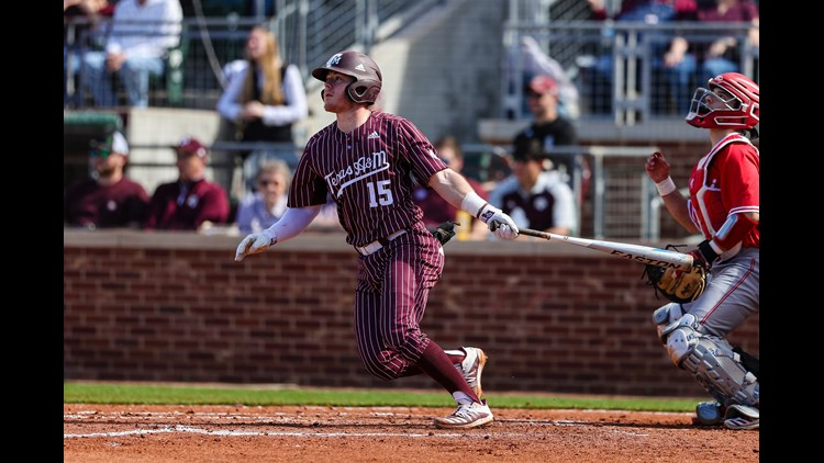 Aggie Baseball Looking to Stay Hot Against Auburn