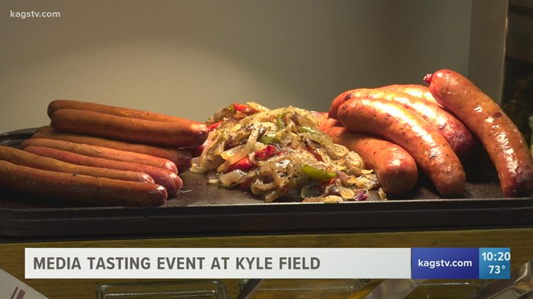 Mmmm that's good! What it takes to feed 80,000 Aggie fans on Game Day