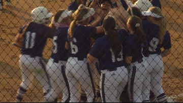 College Station sweeps district games
