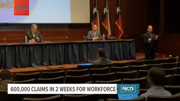 KAGS Breakdown: Gov. Abbott's COVID-19 remarks 4/8/2020