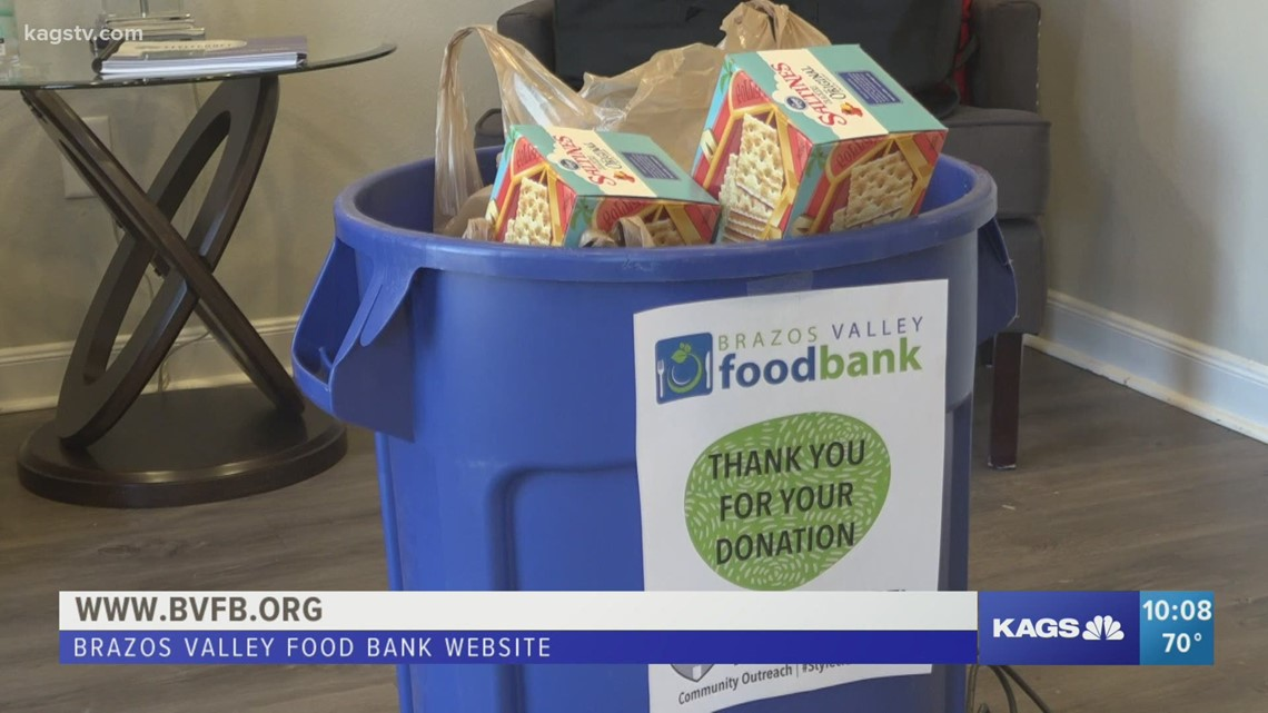 Business Creates Food Drives for the Brazos Valley Food Bank