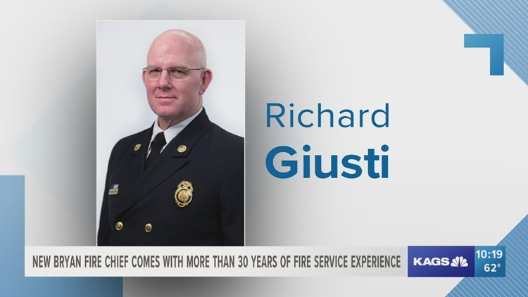 Newly named Bryan fire chief comes with 30 years of fire service