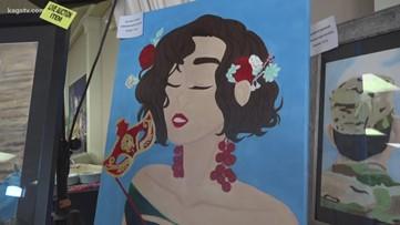 Brenham art students raise thousands of dollars at annual showcase