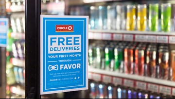 Circle K launches delivery service in Bryan-College Station, promises under an hour with Favor