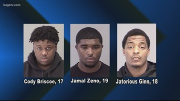 Three arrested in CS for shooting and home invasion