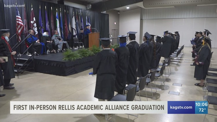RELLIS Academic Alliance graduates first in-person class