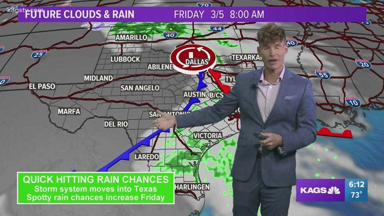 Thursday evening video forecast