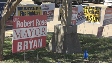 City of Bryan's mayoral candidates gets ready for Tuesday's election