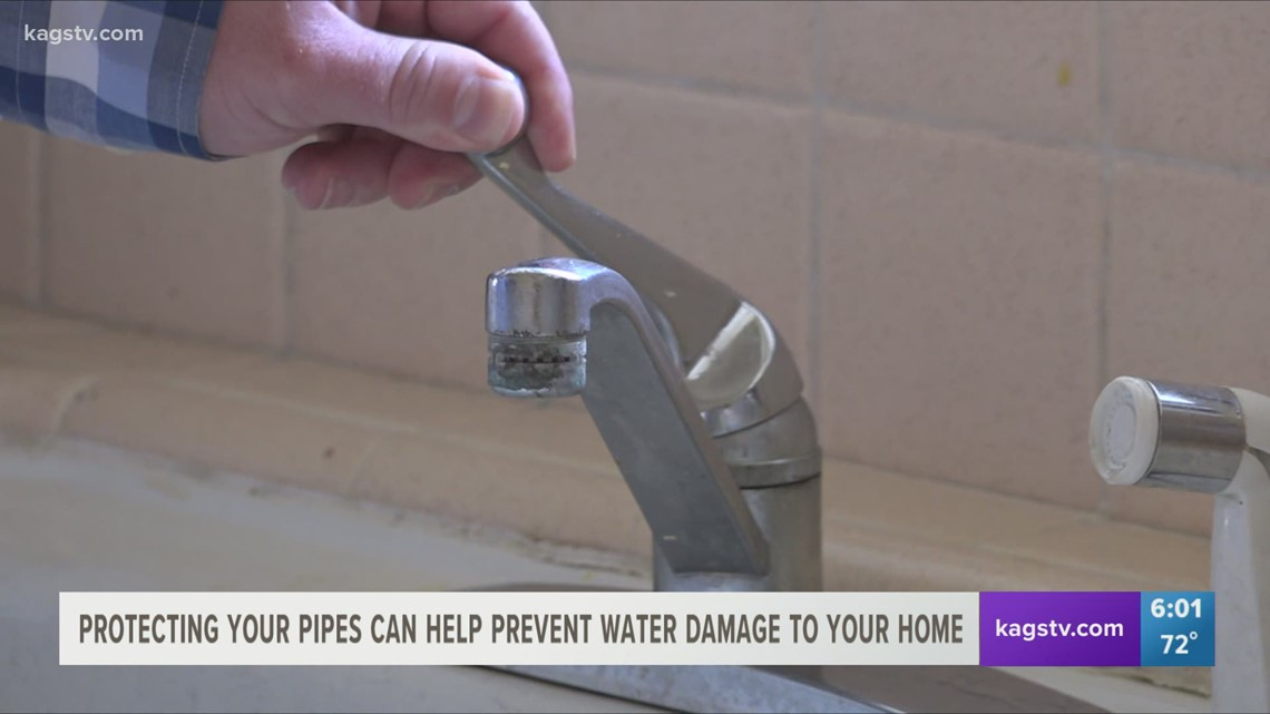 Protecting your pipes can help prevent water damage to your home