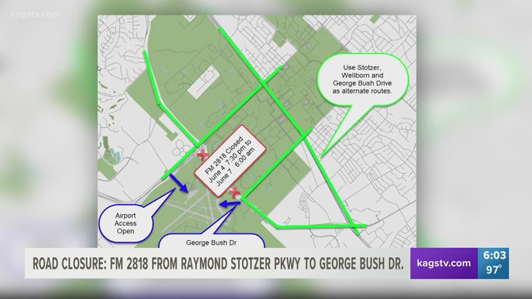CONE ZONE! Section of Harvey Mitchell PKWY closes Friday
