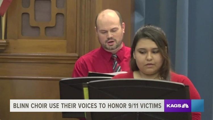 Blinn College Choir honors the lives lost on Sept. 11