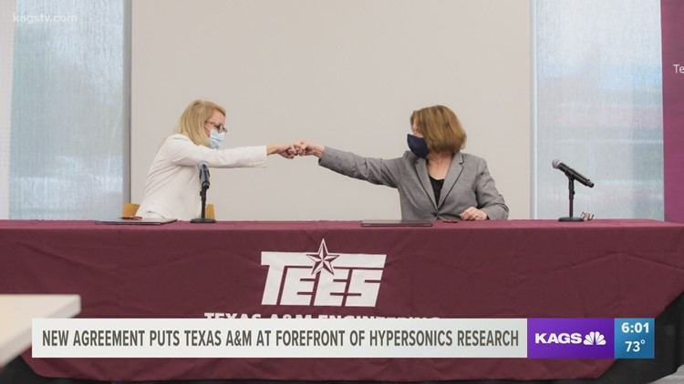 Texas A&M and Lockheed Martin Corporation join forces to create new opportunities for the University