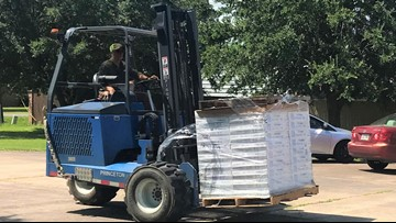 Entergy Texas delivering over 1000 fans to nonprofits for low income customers