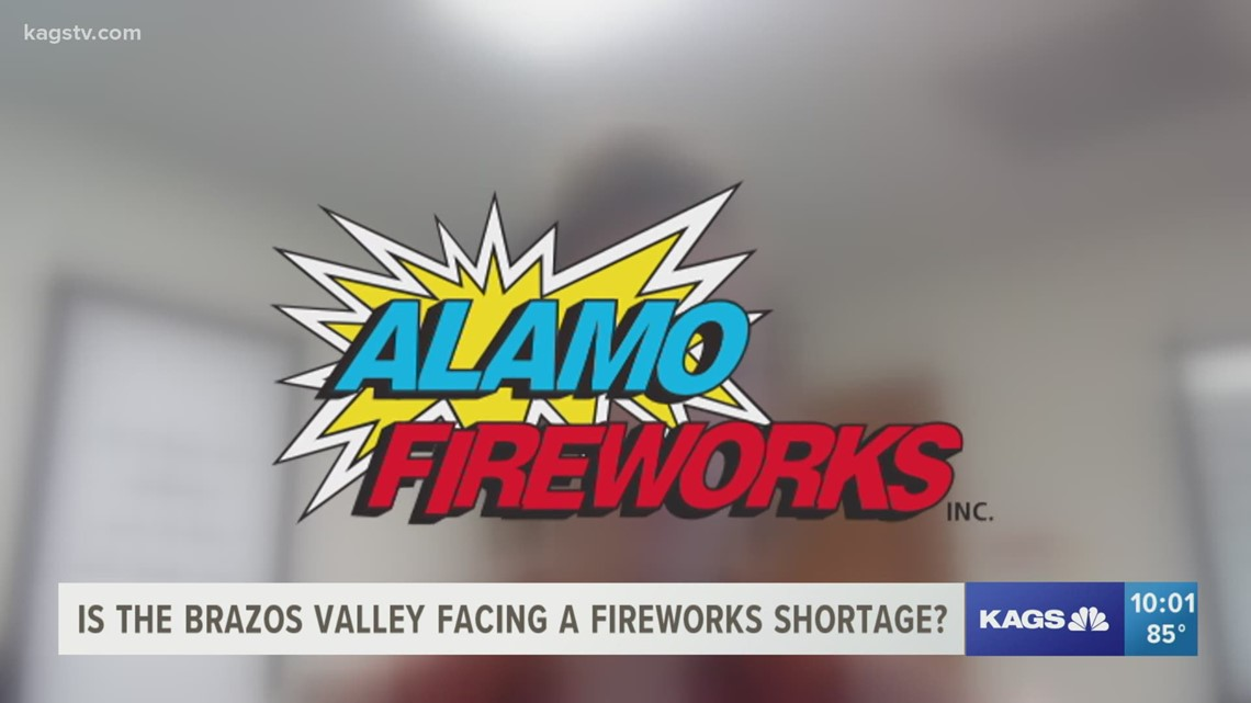 Alamo and TopDog Fireworks are fired up and ready to go this holiday weekend