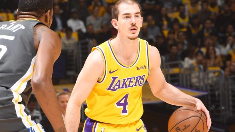 New details released in arrest of Lakers guard Alex Caruso in College Station
