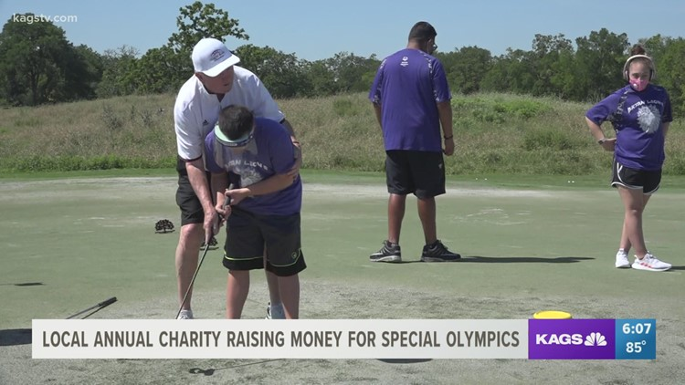 Gary Blair hosts golf event to benefit the Special Olympics