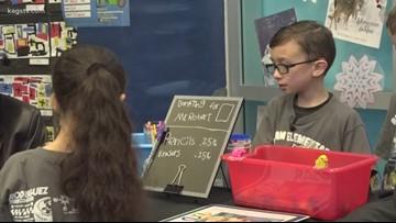 'He's my best friend:' Third-grader raising money for school custodian