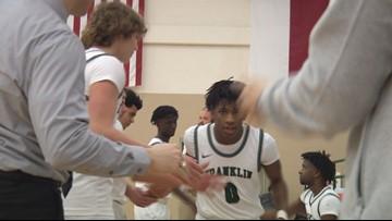 Academy Tops Franklin in Boys/Girls Double-Header