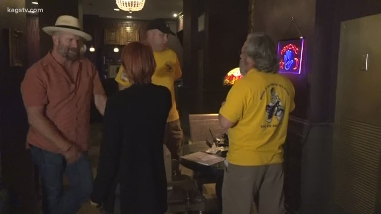 The Heart of Texas rally stops in Bryan