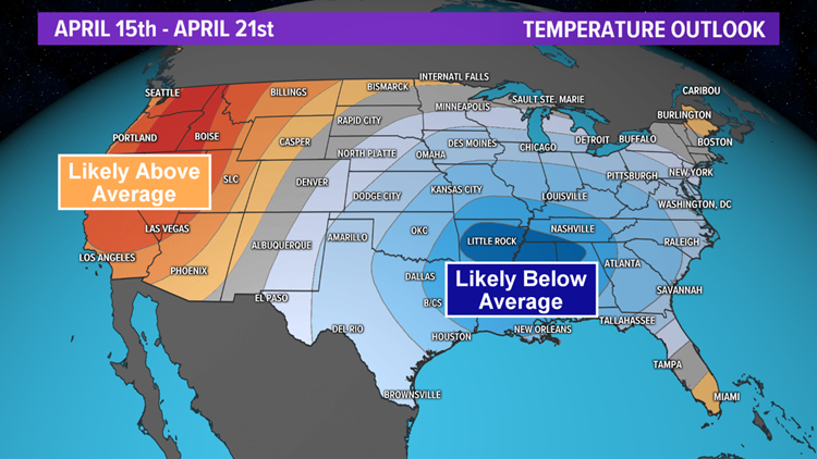 A Texas-sized cool down on the way next week