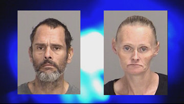 Couple arrested after being found with stolen trailer, drugs in College Station park