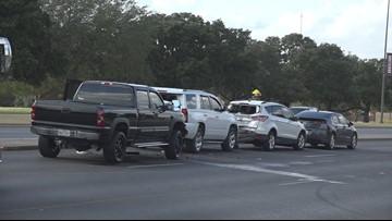 4 Car Crash on Texas Ave.