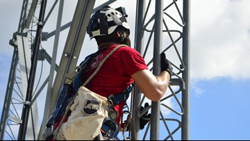TEEX tower technician course takes military veterans to new heights