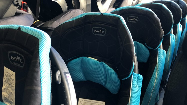 Texas A&M AgriLife Extension Service prepares for car seat safety event