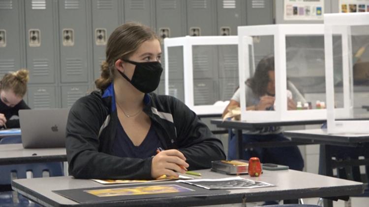Bryan High School senior making name for herself in the art world