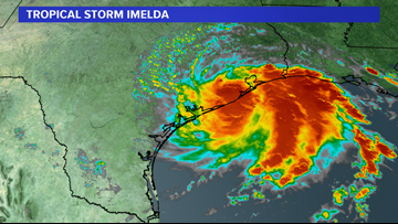 Tropical Storm Imelda makes landfall near Houston