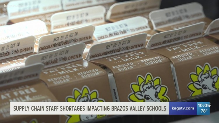 Supply chain staff shortages impact local school districts