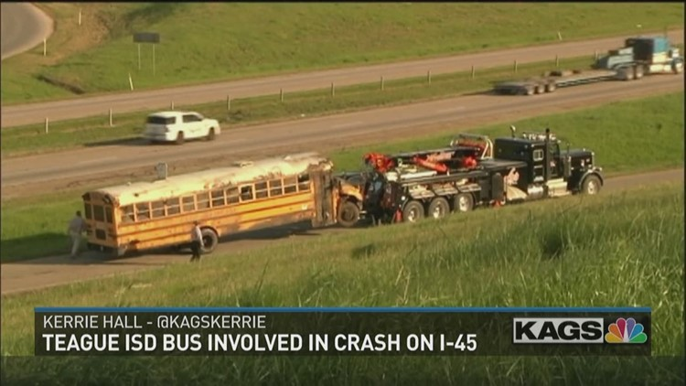 Teague ISD bus Accident