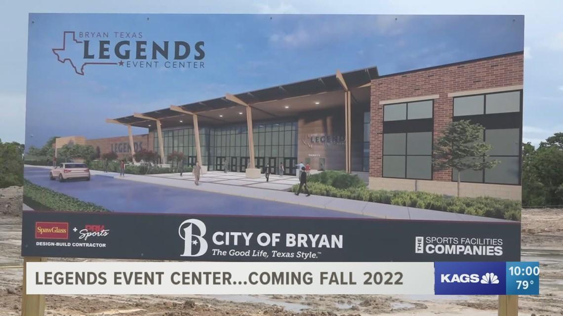Bryan's Legends Event Center breaks ground