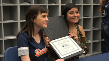 Bryan High School choir celebrates students commitment to pursue music
