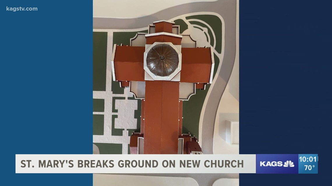 St. Mary's Catholic Center breaks ground for new church