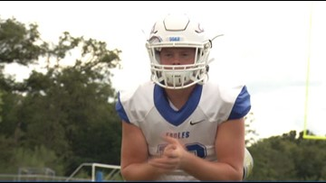 Brazos Christian Bryce Steel named Built Ford Tough Player of the Week