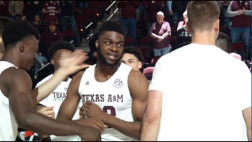 Texas A&M men's basketball picks up biggest win of Buzz Williams era with victory over Oregon State