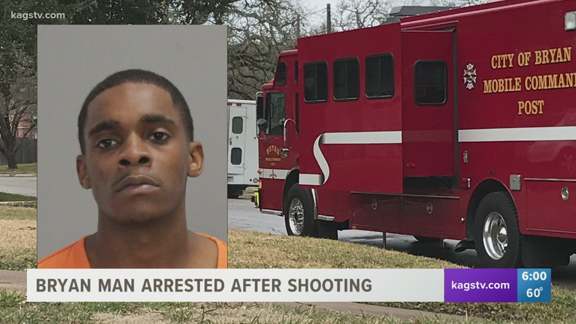 Bryan man arrested after reports of shooting on Pleasant
