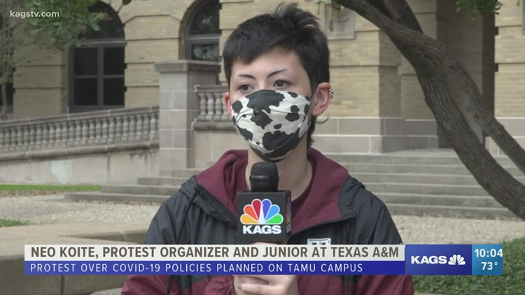 Students speak out against Texas A&M COVID-19 policies after death
