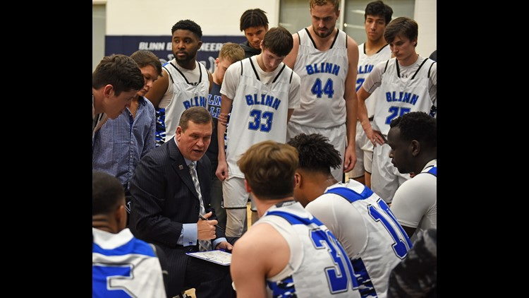 Blinn men's basketball falls at home to Kilgore