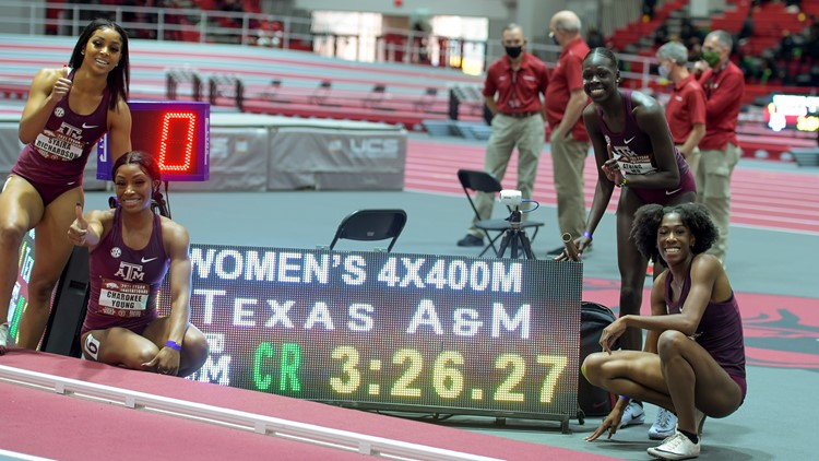 Aggies Prepped for SEC Indoor Track Championships