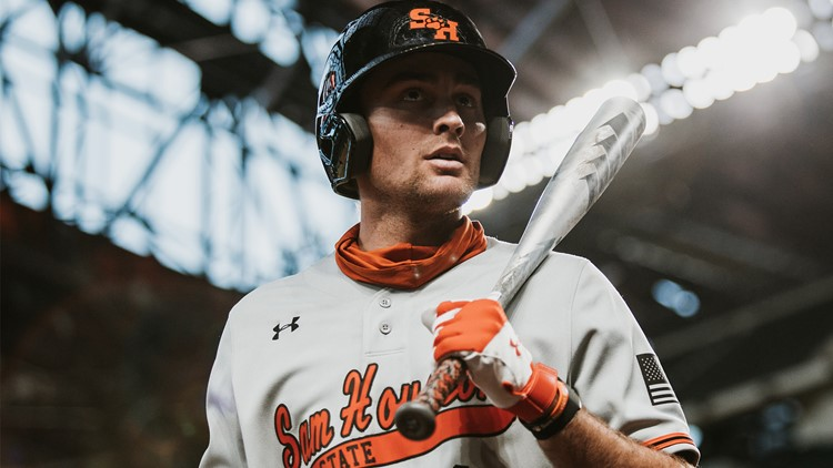 Sam Houston's Colton Cowser makes history by being selected fifth overall in MLB Draft