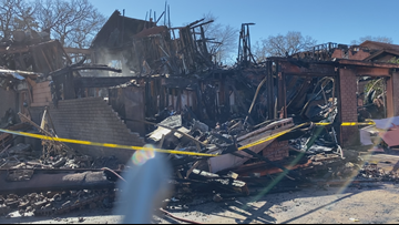 Fire officials investigating cause of devastating apartment fire in Bryan