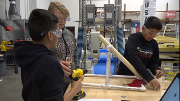 Local middle school project launching students into academic success