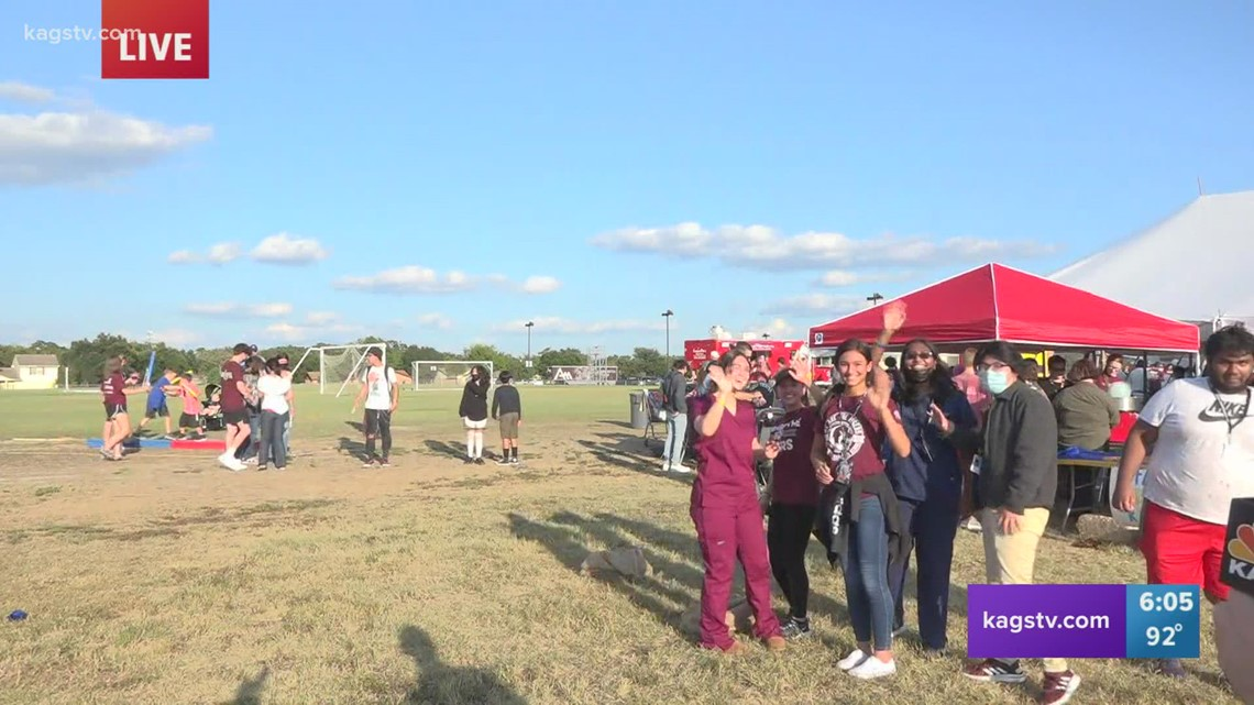 A&M Consolidated High School hosts Homecoming Carnival