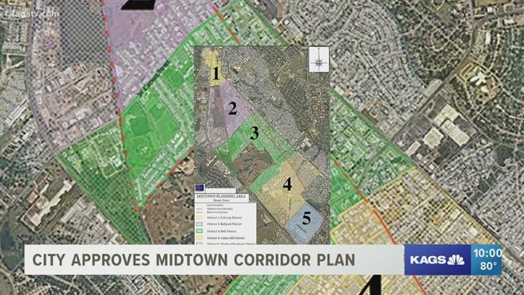 City of Bryan approves Midtown rezoning plan